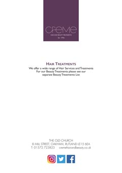 Hair Treatments